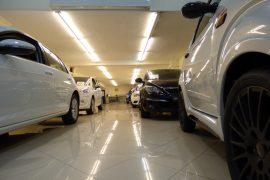 Exposición automóviles huerta