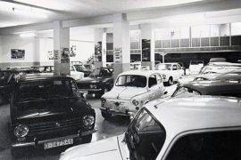 concesionario antiguo automóviles huerta